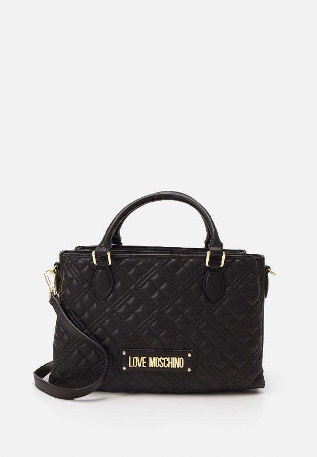 QUILTED SOFT - Handbag - nero