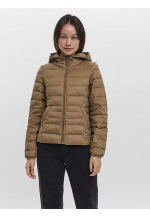 Winter jacket - sepia tint