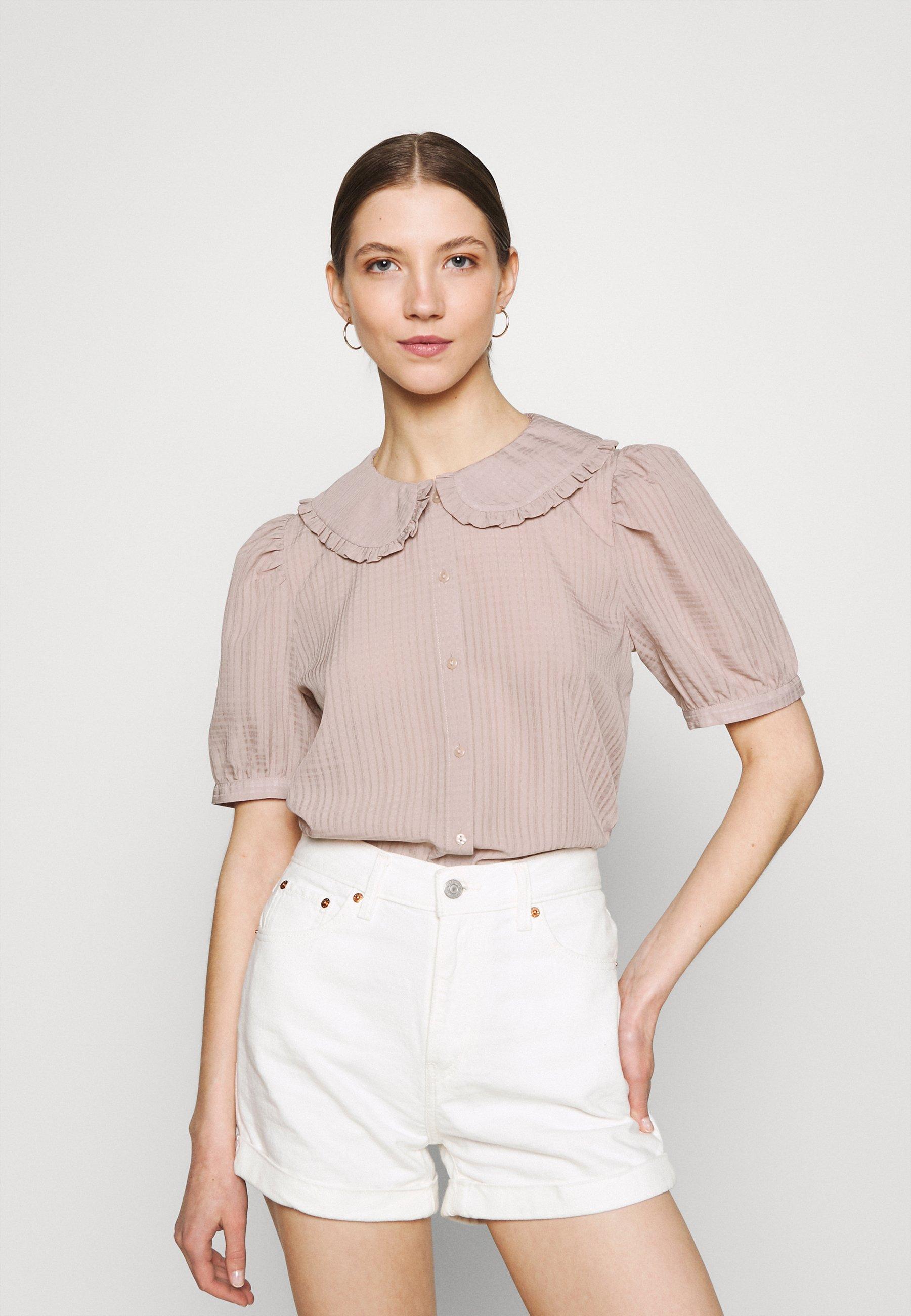 Women JDYLAURE COLLAR SHIRT - Button-down blouse