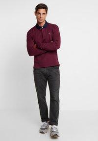 GANT - THE ORIGINAL HEAVY RUGGER - Polo shirt - port red - 1