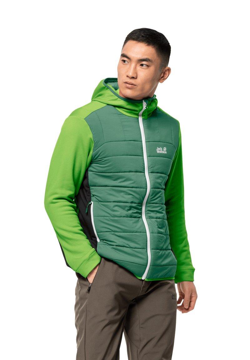 Jack Wolfskin - Soft shell jacket - leaf green