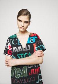 Just Cavalli - Denní šaty - black variant - 3