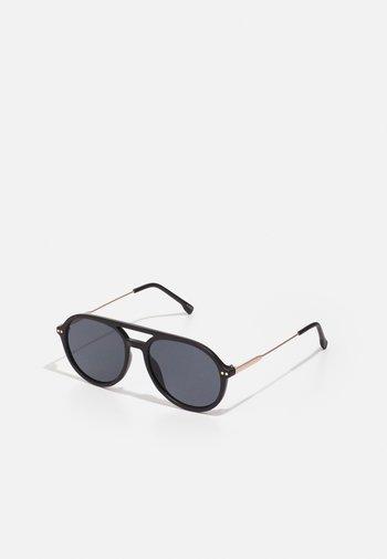GABOUREY - Sunglasses - black/gold-coloured/smoke