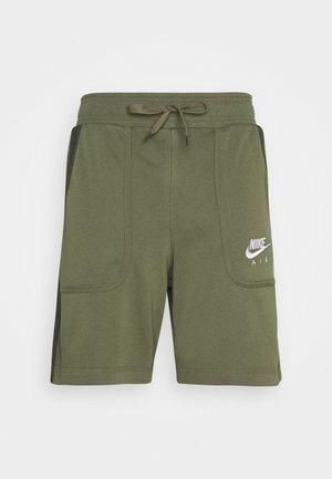 AIR - Tracksuit bottoms - medium olive/cargo khaki/white