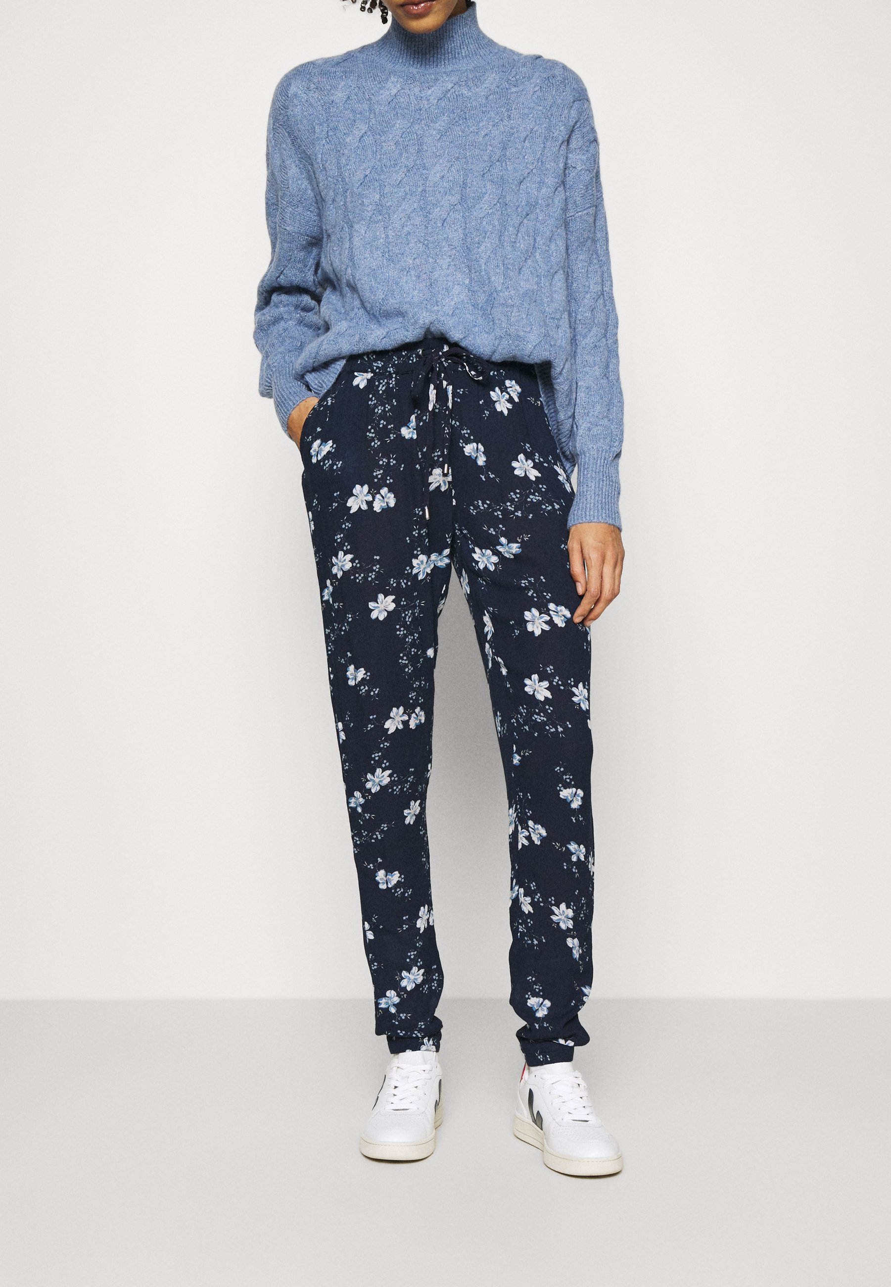 Women ROKA AMBER PANTS - Trousers - midnight marine