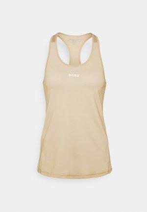 TANK - Sports shirt - sand
