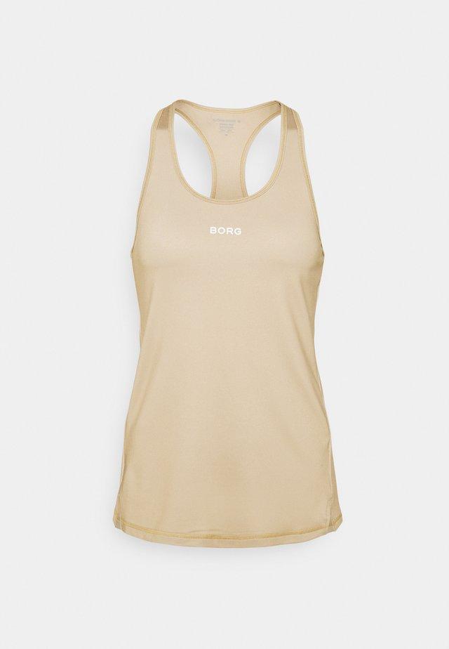 TANK - T-shirt de sport - sand
