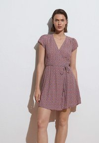 OYSHO - SHORT-SLEEVED  - Day dress - multi-coloured - 2