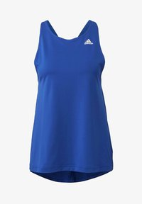 adidas Performance - DESIGNED TO MOVE ALLOVER PRINT TANK TOP - Top - blue - 8