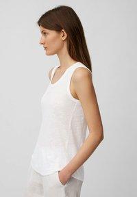 Marc O'Polo - Top - white linen - 3