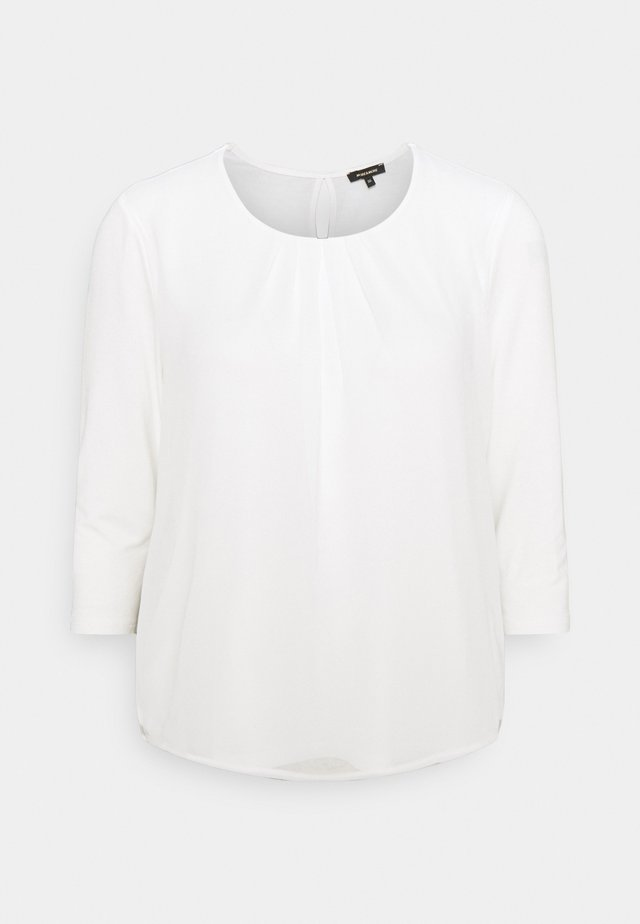 PATCHED - Langærmede T-shirts - offwhite