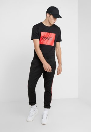 DOLIVE - T-shirt con stampa - black