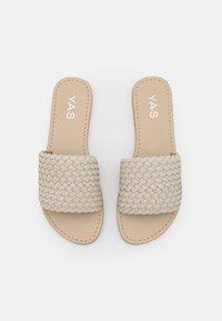 YAS - YASBRADY  - Pantofle - ivory cream - 5