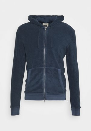 Zip-up hoodie - mood indigo
