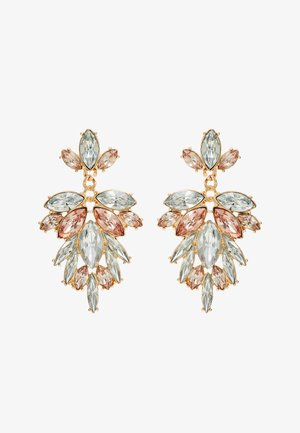 ONLDROPSY EARRINGS - Boucles d'oreilles - gold-coloured/rose
