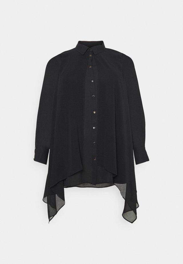 OVERLAY - Overhemdblouse - black