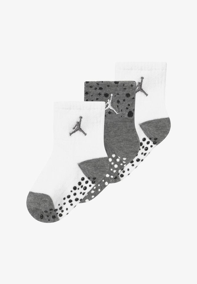 CEMENT INFANT TODDLER ANKLE 3 PACK - Calze sportive - carbon heather