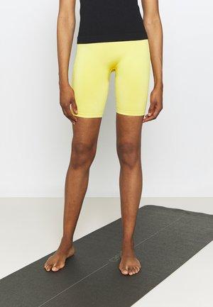 SHORTS - Tights - yellow
