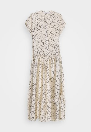 MARGO LONG DRESS  - Maxikjoler - off-white/black