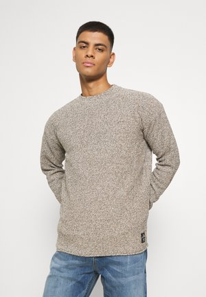 LIGHTWEIGHT BLEND PULL IN STRUCTURED - Maglione - tabacco melange
