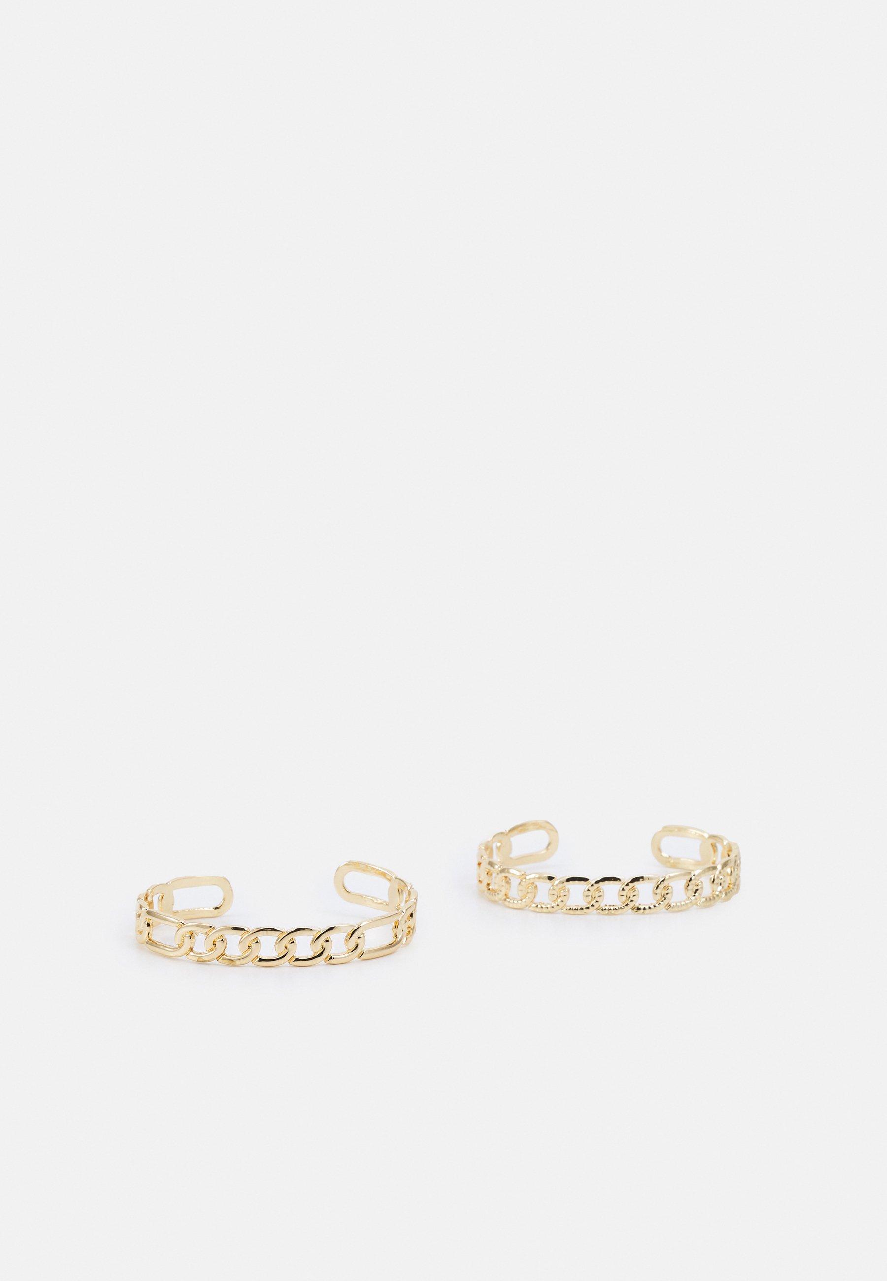 Femme PCLARISSA BRACELET CUFF 2 PACK - Bracelet
