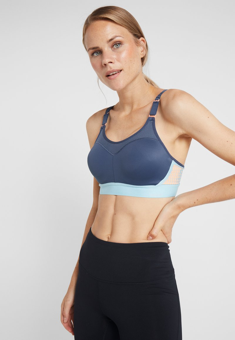 triaction by Triumph - CONTROL LITE - Sports bra - dark sea