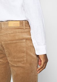 Solid - DRYDER - Trousers - beige - 4