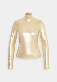 Monki - VANJA - Langarmshirt - yellow/gold - 4