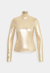VANJA - Long sleeved top - yellow/gold