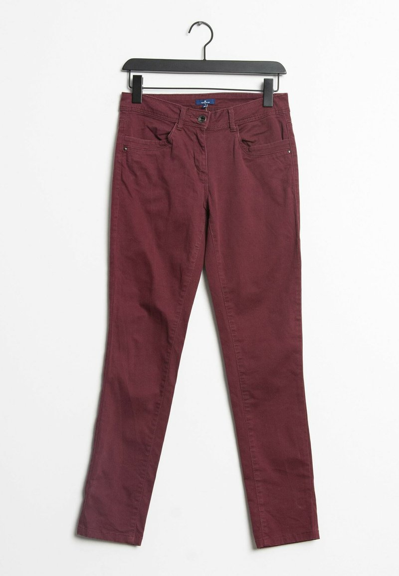 TOM TAILOR - Straight leg jeans - red
