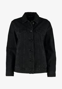 NMOLE JACKET - Denim jacket - black