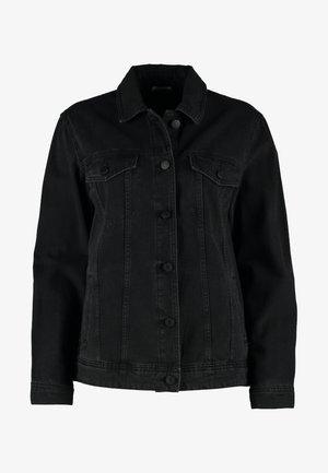NMOLE JACKET - Jeansjakke - black