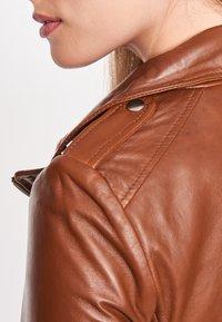BTFCPH - MIA - Leather jacket - dark cognac - 5
