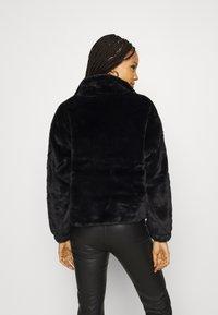 New Look - THEO FUNNEL NECK  - Light jacket - black - 2