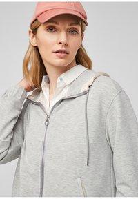 s.Oliver - Zip-up sweatshirt - gray - 3