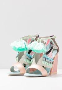 Kat Maconie - AYA - High heeled sandals - pebble/multicolor - 4