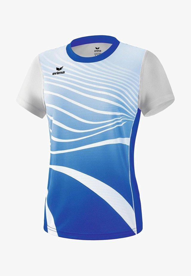 T-SHIRT DAMEN - Print T-shirt - blue