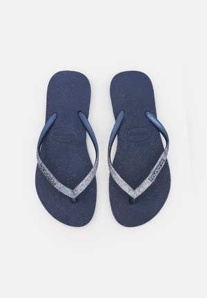 SLIM SPARKLE FADE - Pool shoes - navy blue