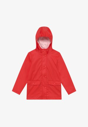 NKNMIL RAIN JACKET - Impermeabile - high risk red