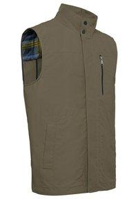 Geox - Waistcoat - bronze green - 1