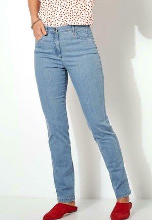 Trousers - bleached denim