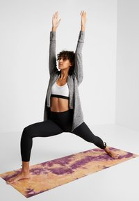 Nike Performance - YOGA COLLECTION - Zip-up hoodie - black/heather/anthracite - 1