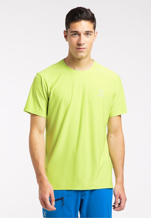 Print T-shirt - sprout green