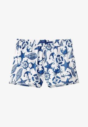 Swimming shorts - marina hyper blue/bianco