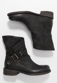 Felmini - VERDY - Cowboy/biker ankle boot - morat black - 3