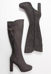 Laura Biagiotti - Stivali con i tacchi - grey - 3
