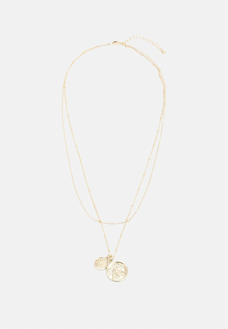 Pieces - PCKELLY NECKLACE - Necklace - gold-coloured