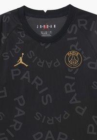 Nike Performance - PARIS ST GERMAIN UNISEX - Klubové oblečení - black/bordeaux/truly gold - 2