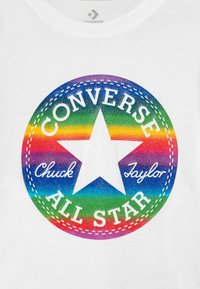 Converse - CHUCK PATCH  - Camiseta estampada - white
