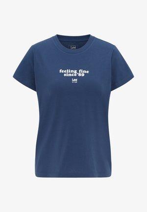 T-shirt z nadrukiem - asphalt grey